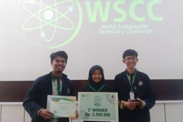 World sustainable chemistry challenge 2019